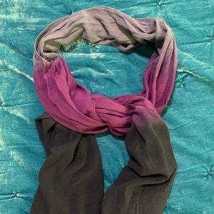 Ombré long scarf